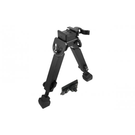 UTG Rubber Armored Full Metal QD Bipod, Height 6.0- 8.5